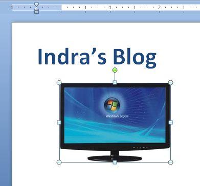 Menyisipkan Gambar ke Ms.Word Tanpa Menyimpan Gambar