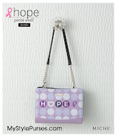 The Purple Hope Petite Shell has been Retired and is no longer available