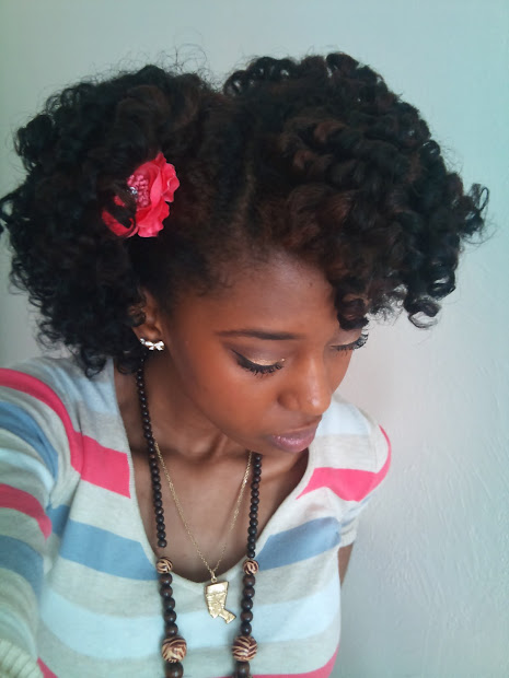twist-curl curly fro- natural