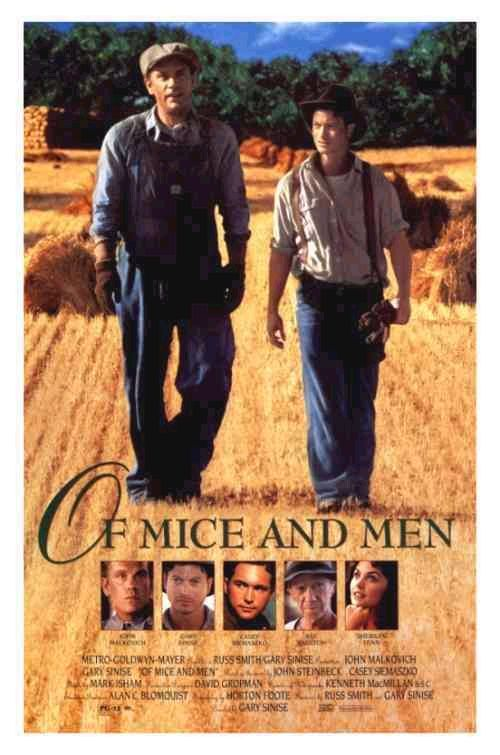 the friendship of george and lenny in of mice and men by john steinbeck Of mice and men has many themes presented by steinbeck, one of which is about friendship the novella shows the relationship between the protagonists, george and lennie, and showing how they try to achieve the american dream by working together.