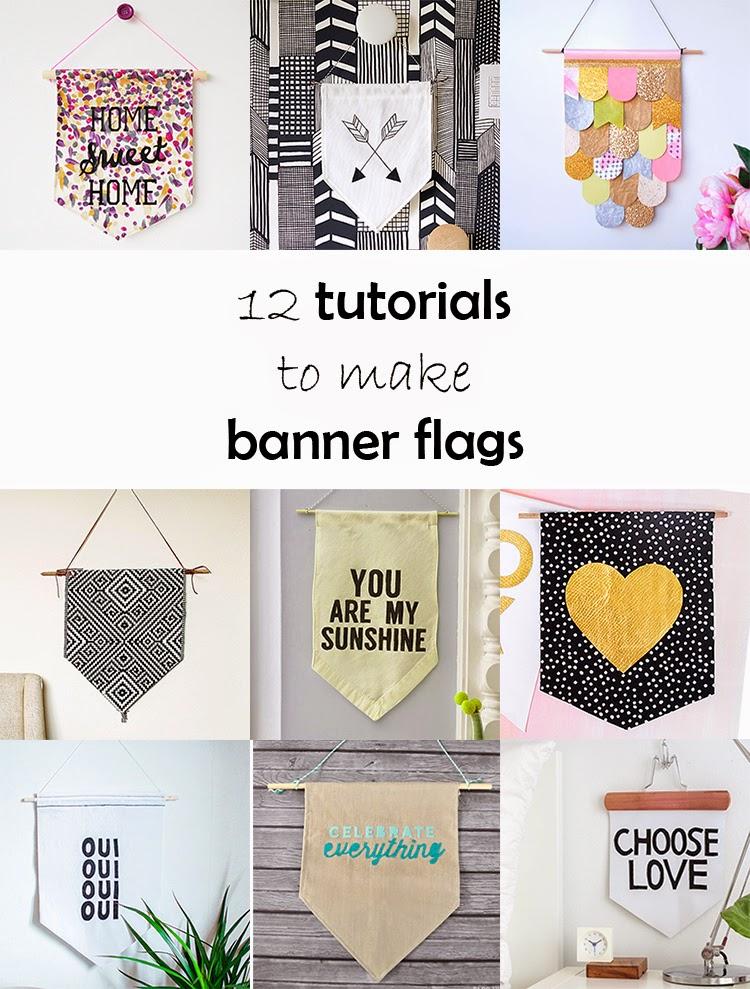 DIY Monday # Banner flags