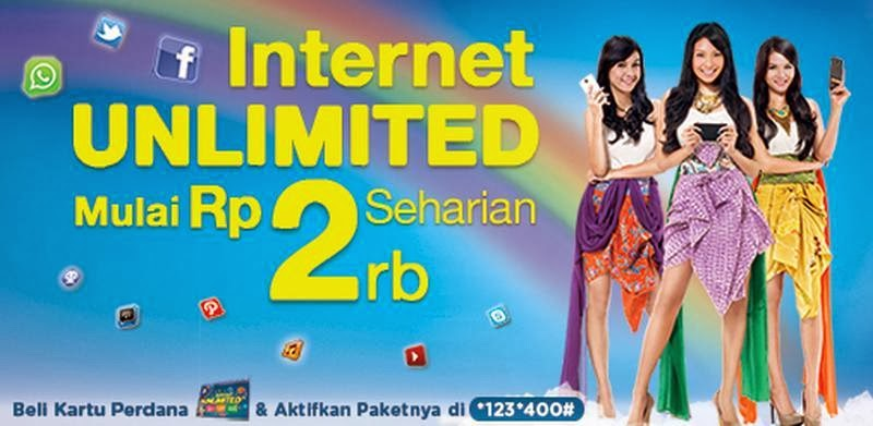 XL,Paket internet,internet unlimited