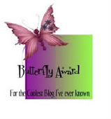 Blog Award From Brenda!