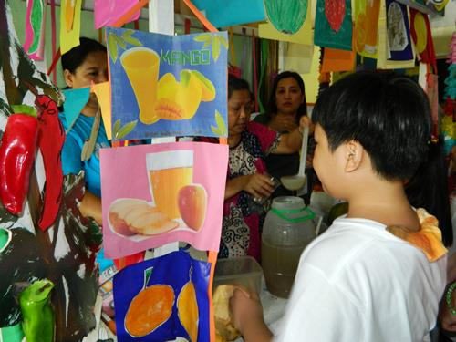 nutrition month, nutrition month activity, fresh fruit juice