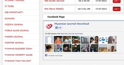 The wave magazine myanmar celebrity