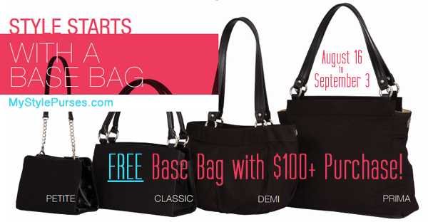 FREE Miche Base Bag with $100+ Purchase