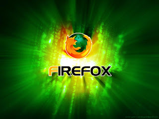 Firefox Green Light wallpaper