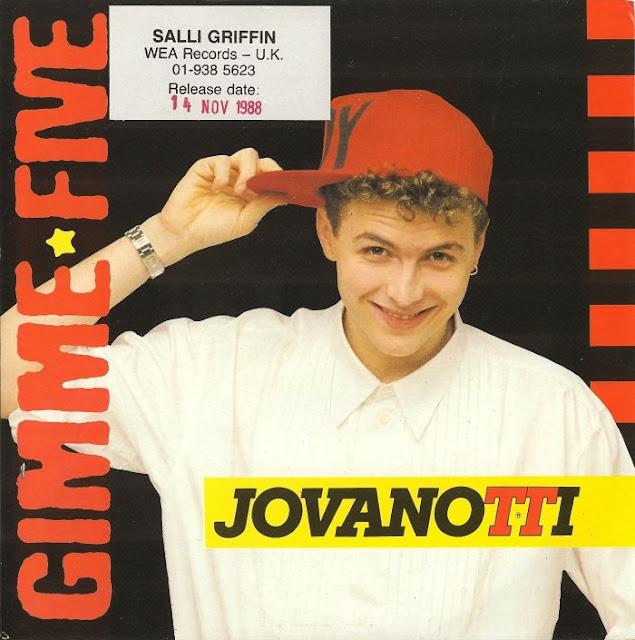 Copertina Jovanotti - Gimme Five