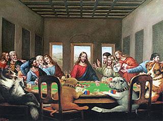 jesus poker
