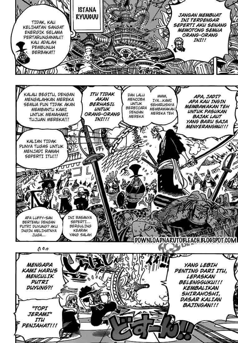 """One Piece 616 """" perayaan pembalasan dendam """""""