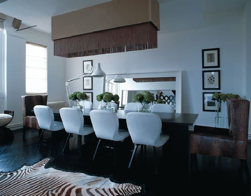 Daily imprint interviews on creative living interior - Kelly hoppen living room interiors ...