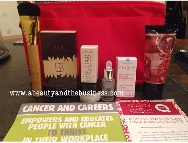 QVC Beauty with Benefits Tarte beyond BB perfecting liquid Foundation, QVC Beauty with Benefits, QVC Beauty with Benefits goodie bag,