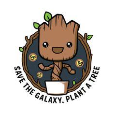 Salva la galaxia — ¡PLANTA UN ÁRBOL! 🌳