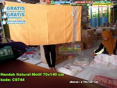 Handuk Natural Motif 70×140 Cm