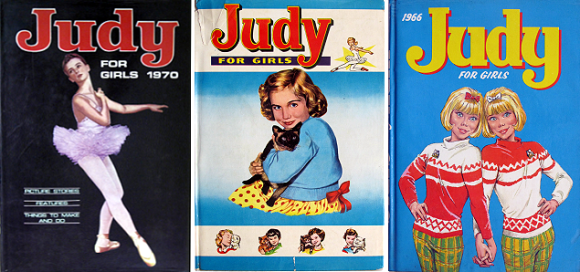 Judy for girls Judy Annuals Vintage