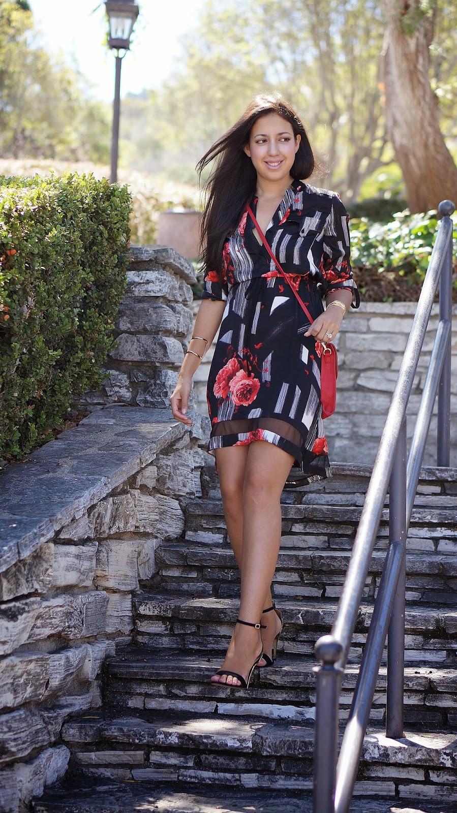 Simply Vera Shirt dress, The perfect Shirt dress for summer, Kohl's, Zara heels