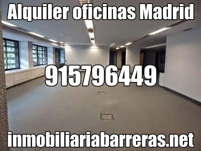 Oficinas Madrid Alquiler nosolopisos.es