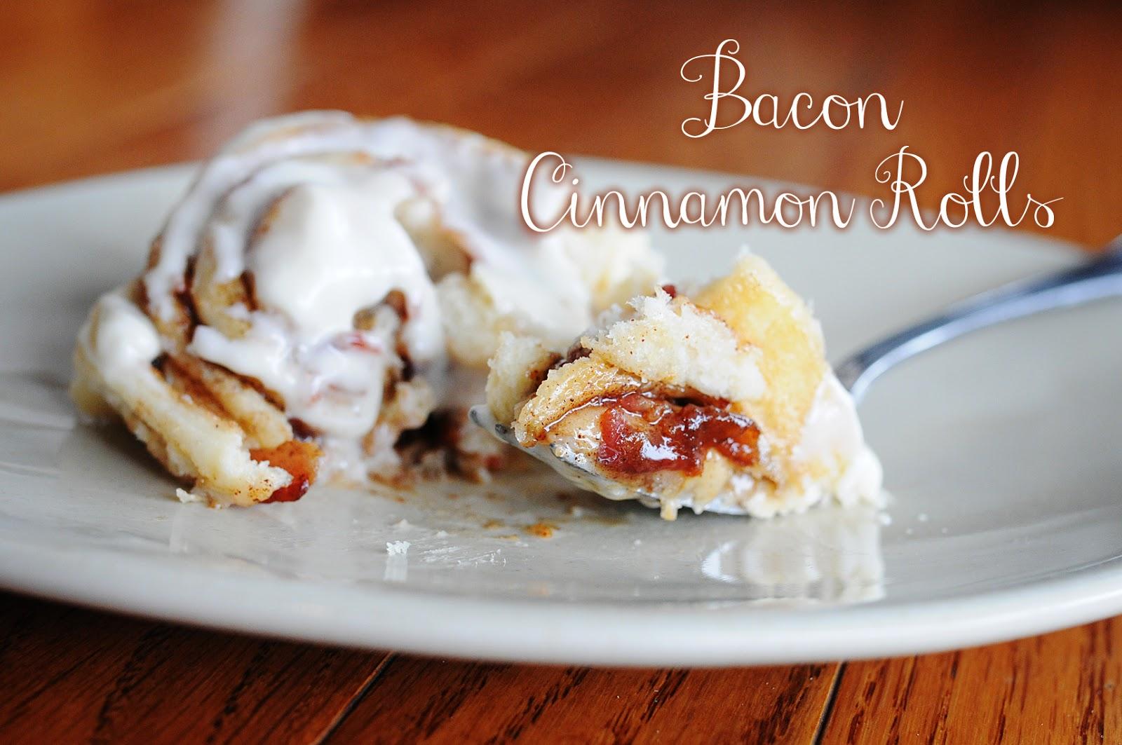 how to make bacon cinnamon rolls