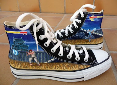 Converse All Star Street Fighter