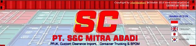PPJK -| PT. Sinar Cargo (021) 22443998