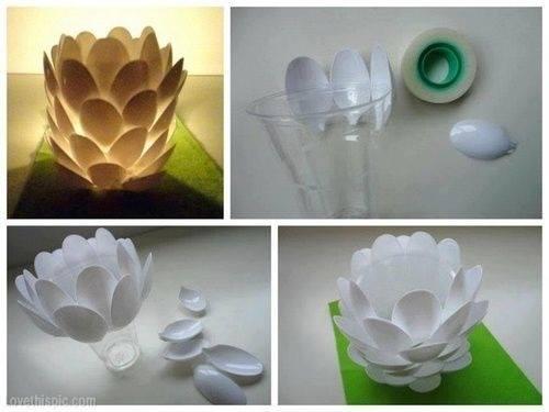 Plastic Spoon Diy Tutorials | Diy