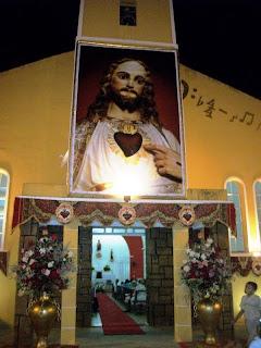 3ª NOITE DE NOVENA EM HONRA AO SAGRADO CORAÇÃO DE JESUS