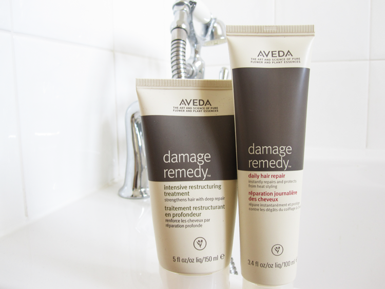 Aveda Damage Remedy Intensive Restructuring Treatment and Daily Hair Repair review