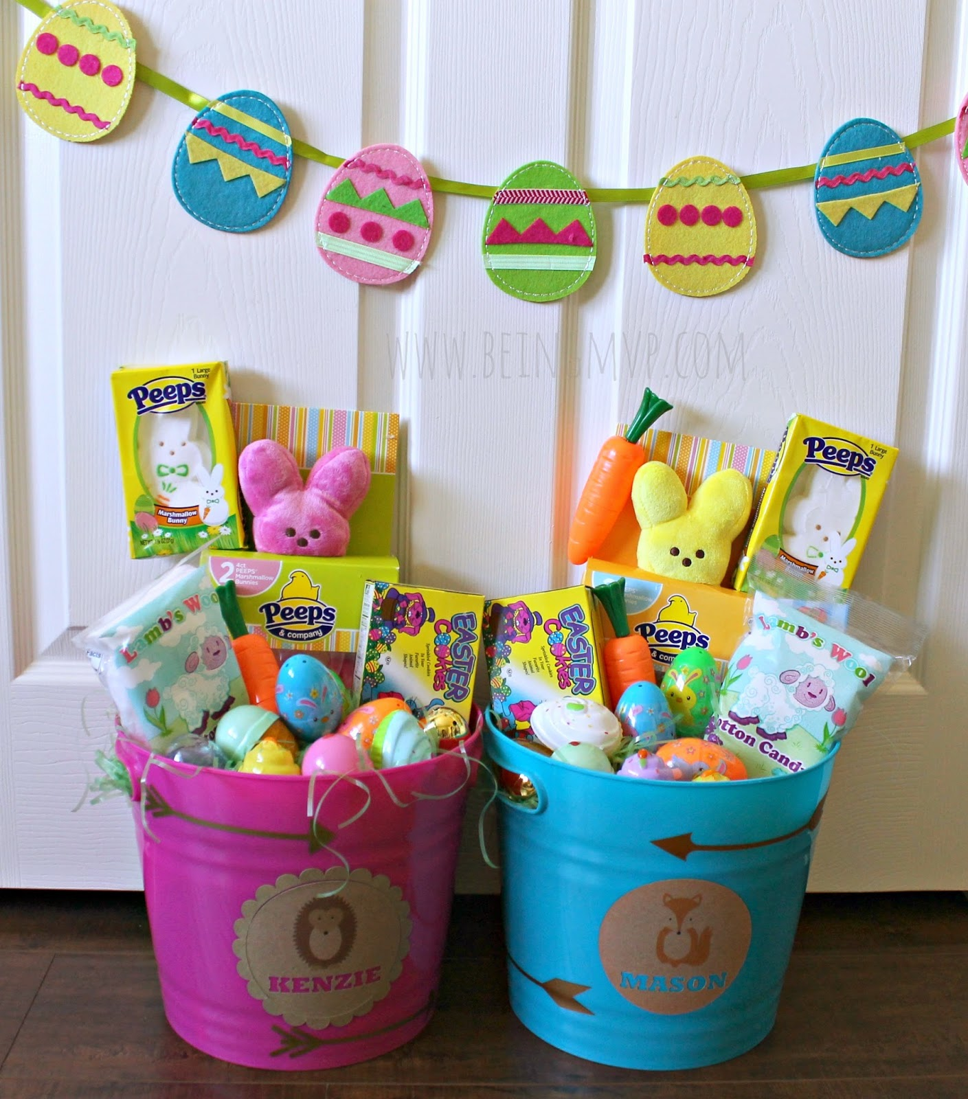 being mvp easter basket ideas for little kids