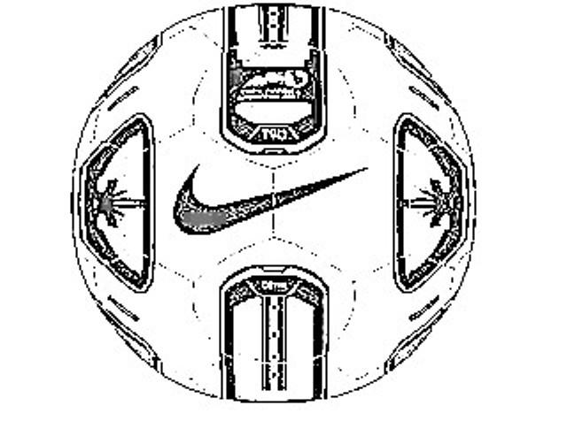 Colorear Pelota Nike Copa America 2011 Total 90 Tracer Doma