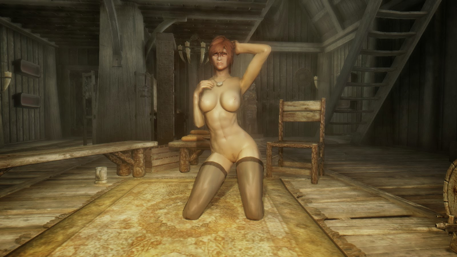 Elder scrolls nude mod hentai video