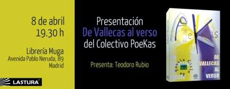 Primera presentación De Vallecas al Verso