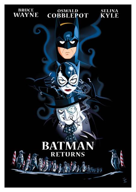 Filmes de sucesso no cinema em lindas ilustrações