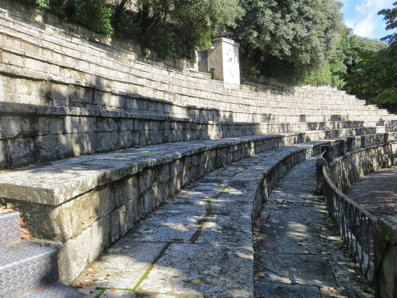 Roman Amphitheatre in Cortona, Italy