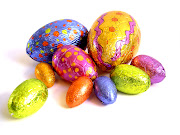 And then finally, we are eating Easter Eggs because that is WHAT WE DO! easter eggs