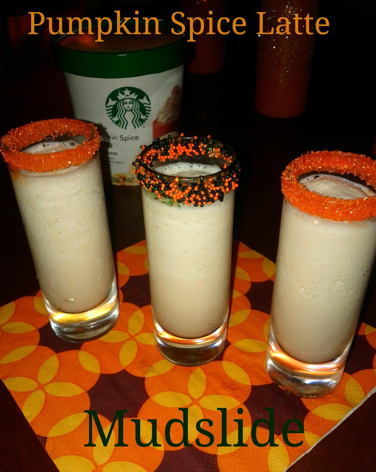 The Whimsy One: Thirsty Thursday: Pumpkin Latte Mudslide