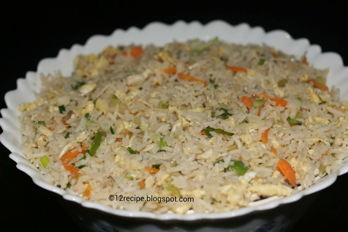Egg fried rice recipe book egg fried rice ccuart Image collections
