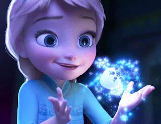Gambar Elsa Frozen Kecil