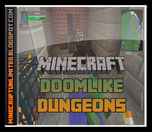Doomlike Dungeons Mod Minecraft