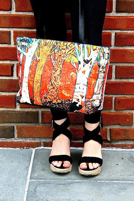 Orange Handbags | fall fashion!