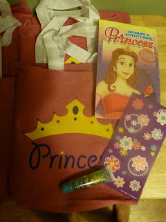 Princess tea party goodie bags
