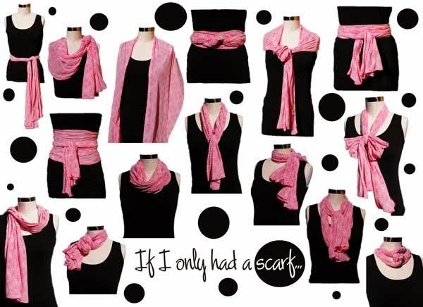 women scarf style