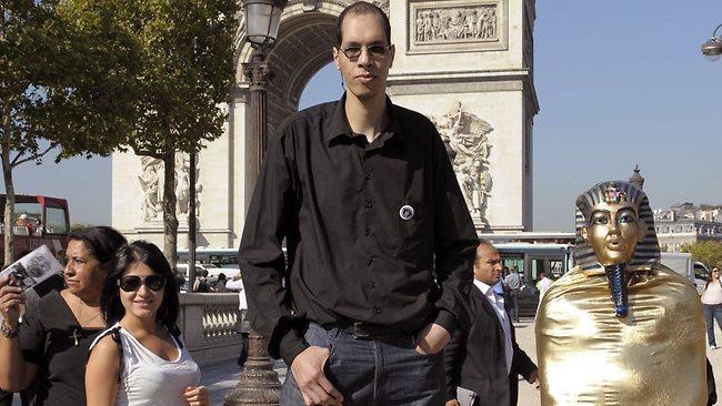 Brahim Takioullah - Kaki manusia terbesar di dunia