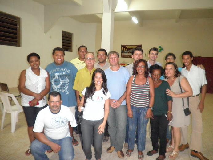 Participação na posse da nova Diretoria da AMVISUL (Março 2011)
