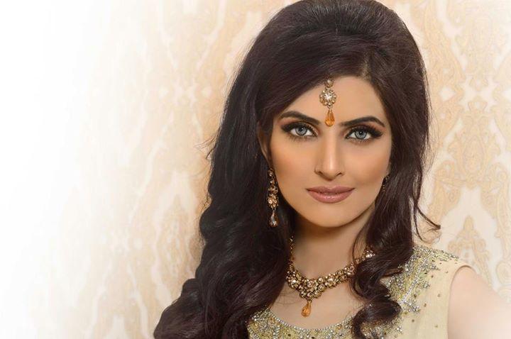 Pakistani Bridal Hair Style