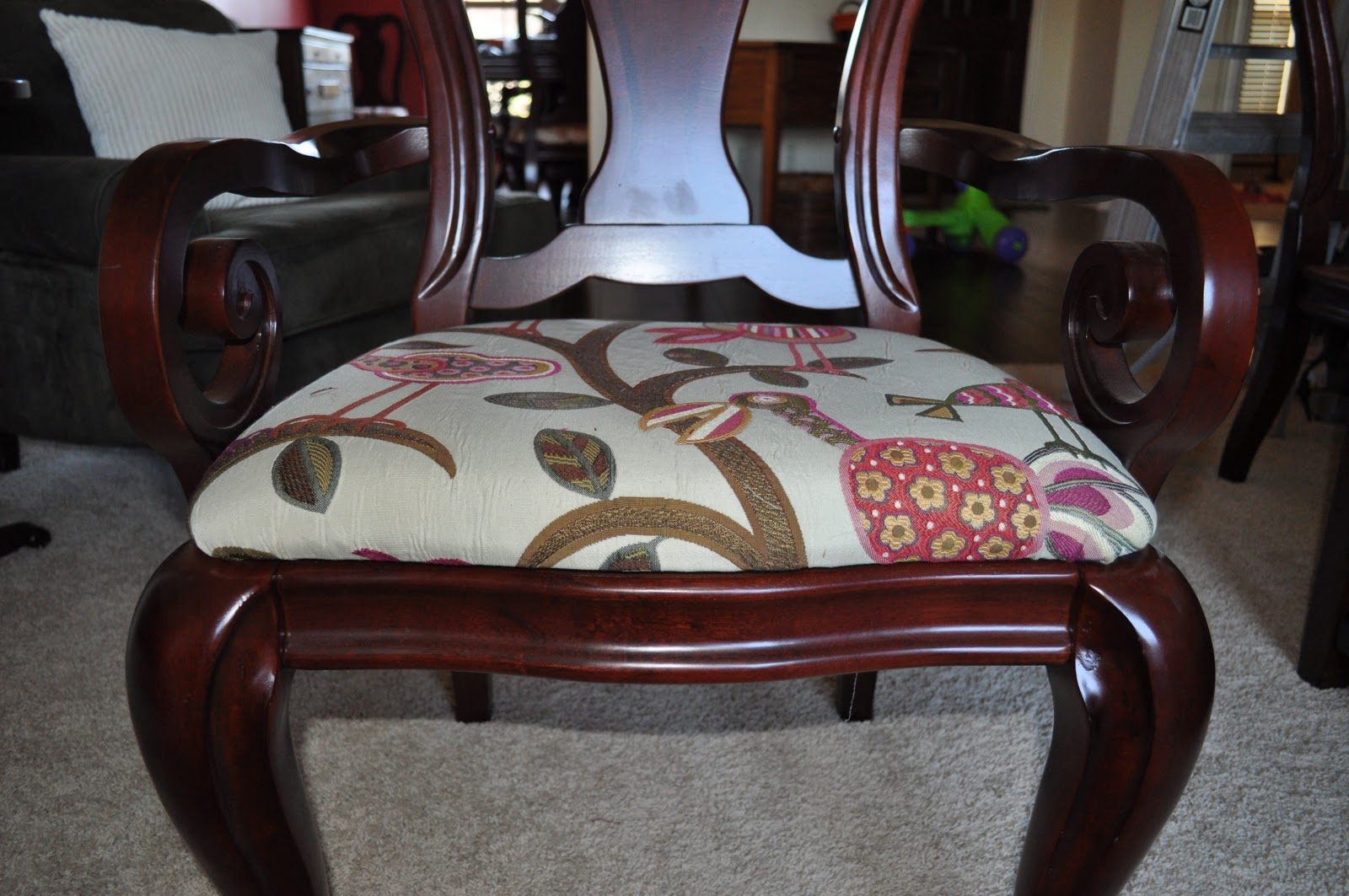 DIY: How To Reupholster A Dining Room Chair (Part 3)