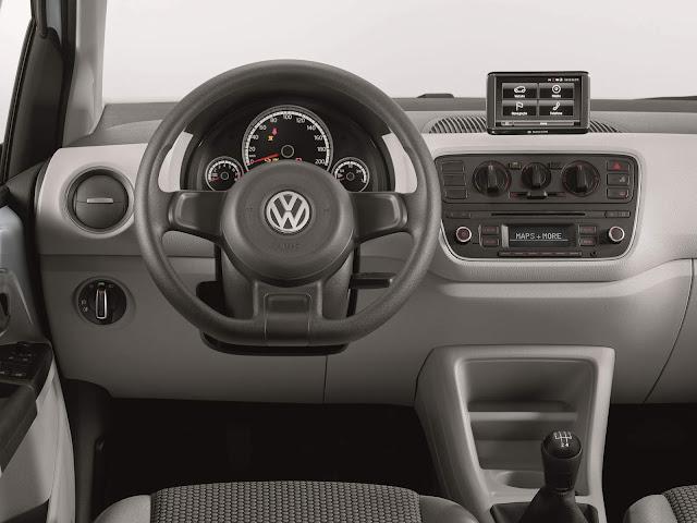 Volkswagen up! TSI Turbo 2016 - preço R$ 43.490 reais - interior