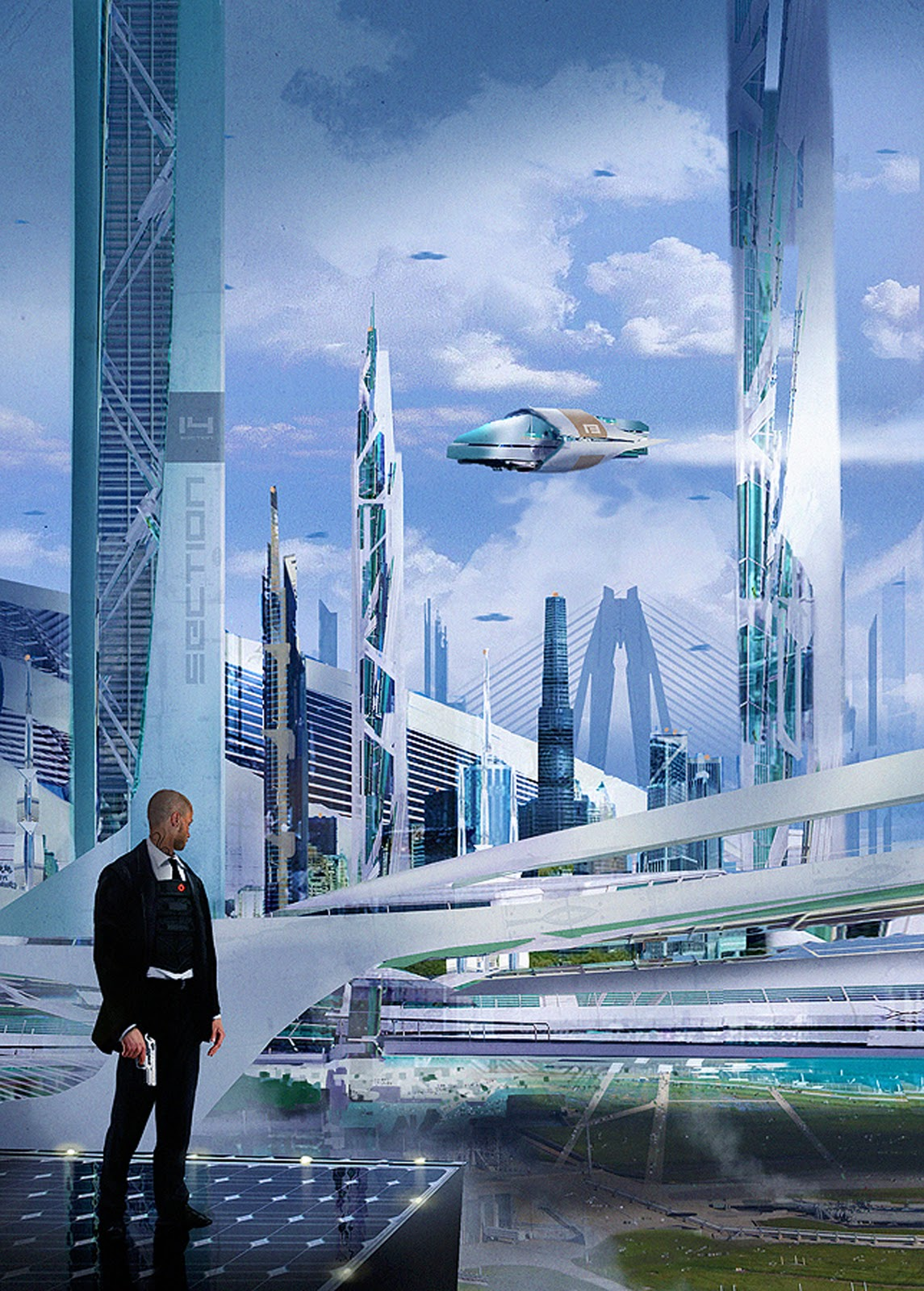 Dsng 39 s sci fi megaverse sci fi buildings and futuristic Concept buildings