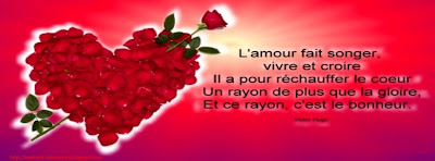 Belle couverture facebook citation amour