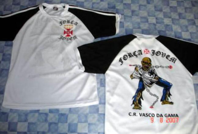 e8901cf1ce FORÇA JOVEM 2007  CAMISA. Postado por Torcidas do Vasco ...