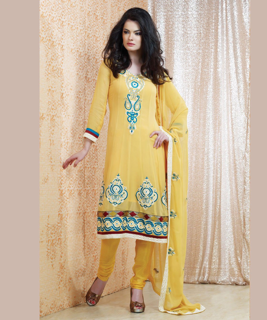 Indian Salwar Kameez Online 2013-2014 | New Party Dresses Fashion